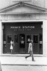 Then and Now Prince Street Post fice and Apple Store NYC 1976