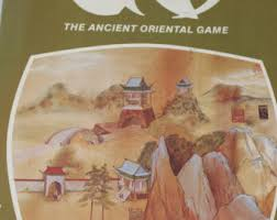 GO Board Game Reiss Games 1974 The Ancient Oriental