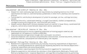 Bankruptcy Attorney Resume Example Cover Letter Lawyer Examples