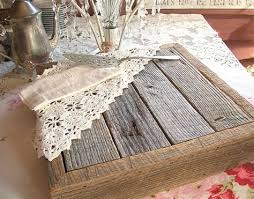 Rustic Wedding Cake Stand Oak Barn Wood By