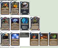 hearthstone tinkertown arenadome shaman cards by red rum 18 on