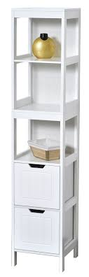 collection cap ferret bathroom free standing linen tower shelf 2