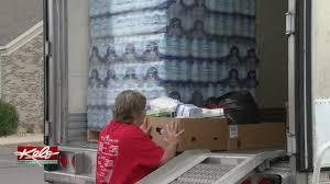 100 Smith Trucking Worthington Mn Stocking Trailer For Hurricane Victims
