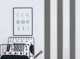 streifen an die wand malen ideen für gestreifte wände