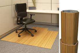 roll up bamboo chair mat 220 00 for office desk area by anji
