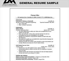 General Resume Sample 0