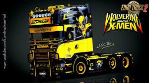Scania V8K-Blaine R520 Wolverine Edition - Euro Truck Simulator 2 ...