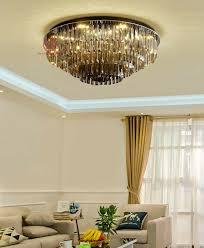 beleuchtung led wohnzimmer k9 kristall hängele lüster