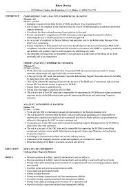 Download Analyst Commercial Banking Resume Sample As Image File