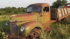 PARTING OUT 1947 INTERNATIONAL KB-5 TRUCK SELLING PARTS {OKLAHOMA ...
