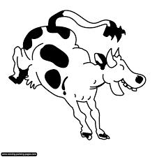 Vache Clipart Gratuit Animal Colorier Animaux Coloriages Livres De