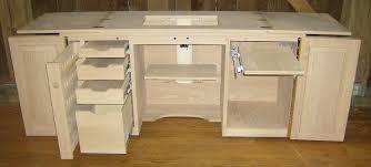 Koala Sewing Cabinets Australia by Jake U0027s Amish Furniture Sewing Machine Cabinet With Serger Lift