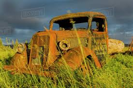 100 Rusty Trucks View Of An Old Rusty Ford Truck At Sunset In A Field In Gustavus