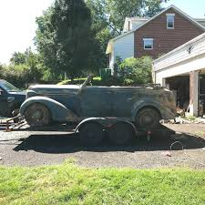 100 Antique Airstream Rare Barn Find 1936 Chrysler C8 Convertible Cars For