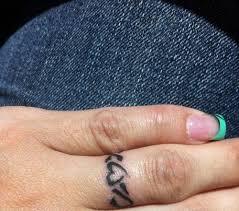Heart Ring Tattoo Design Pinit