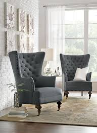 Uniquely shaped chairs are a perfect home accent HomeDecorators