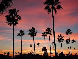 Long Beach California Sunset By Nikkorsnapper Via Flickr