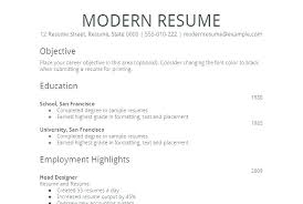Example Of Simple Resume Format Blank Templates Free Samples Examples For Freshers Sample A
