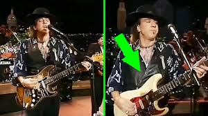 Stevie Ray Vaughan Pulled Off The Smoothest Guitar Switch Ever Watch Closely