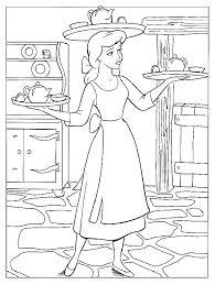 Cinderella Coloring Pages 2