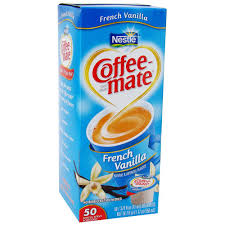 Coffee Mate French Vanilla Liquid Creamer 50ct