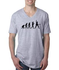 mens next level evolution of man guitar rock music v neck t shirt