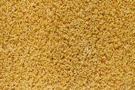 Texture Of A Yellow Carpet With Long Pile Stock Photo Picture And