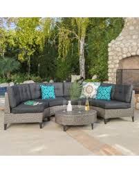 creative decoration grey wicker outdoor furniture ingenious