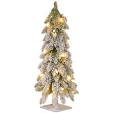 Snowy Dunhill Christmas Trees by White Christmas Trees You U0027ll Love Wayfair