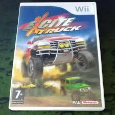 100 Excite Truck Wii Nintendo Pal