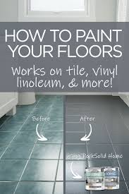 transform your bathroom in a day by painting your floor