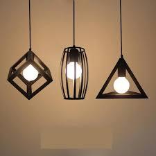 luminaires chambre rétro bar loft fer éclairage industriel luminaires chambre salle à