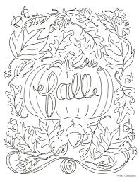 Printable Coloring Pages For Adults Only Christmas Fall Pictures To Color