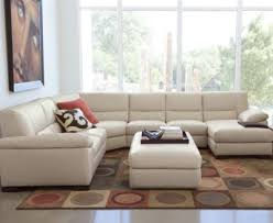 Spencer Leather 4 Piece Sectional Sofa e Arm Loveseat e Arm