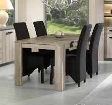 table de salle à manger contemporaine coloris chêne mara gabrielle