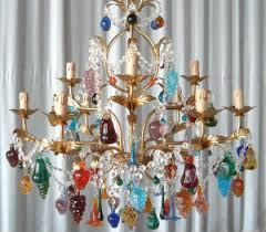 classic venetian fruit chandelier murano chandelier glass
