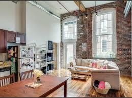 100 Lofts For Rent Melbourne Charming Exposed Brick Loft With Natural Light Nashville TN