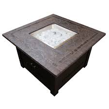 Hiland Patio Heater Manual by Az Patio Hiland 40 In Square Fire Pit Table Hayneedle