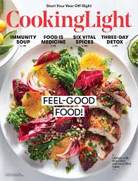 January February 2018 Magazine Features Cooking Light