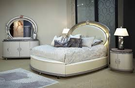 Furniture Wonderful Bed With Unique Headboard By Aico Furniture