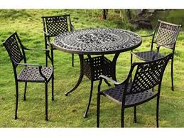 Patio Table: Metal And Glass Patio Table Large Metal Patio ...