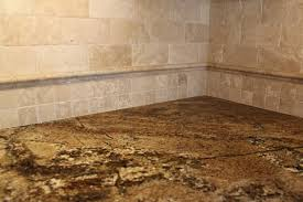 tumbled travertine backsplash tile stunning creative interior