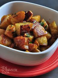 Twice Baked Oven Home Fries The Creekside Cook