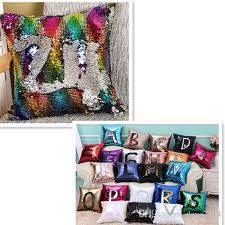 Replacement Sofa Pillow Inserts by Mermaid Pillow Insert Sparkling Flip Sequin Pillow Magic