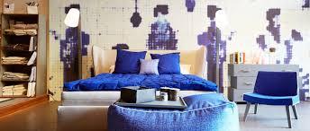 ruhepol schlafzimmer mit einem bett das seinen schlafgast
