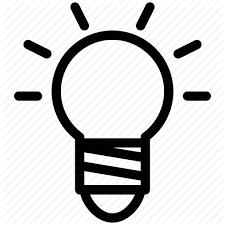 bulb clear concept creative grid idea information