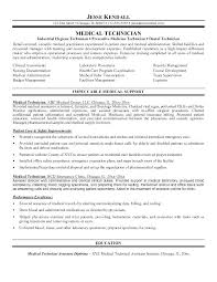 Medical Resume Objective Examples For Field Assistant Objectives