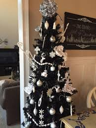 6ft Christmas Tree With Decorations by Interior Black Christmas Tree 12 Ft Christmas Tree U201a Ceramic