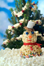 Frosty Snowman Christmas Tree by Recipes With Popcorn