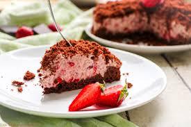 schokoladiger erdbeer maulwurfkuchen c b with andrea